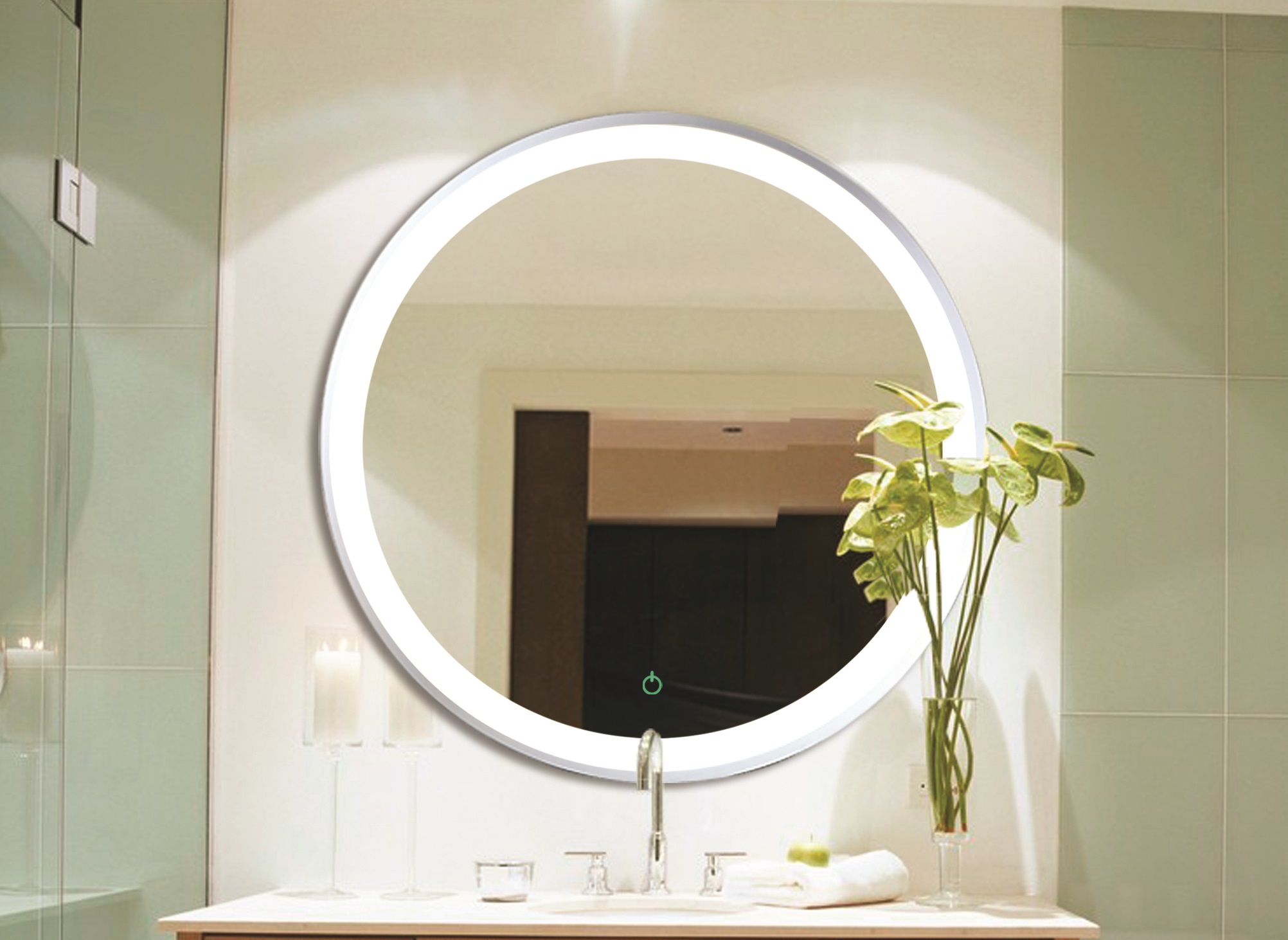 Relax m36 luxo marbre for Miroir in english