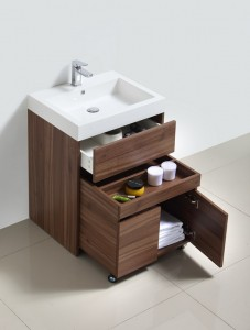 Relax V24 ouvert walnut