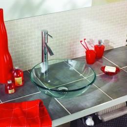 Vasques de verre trempé