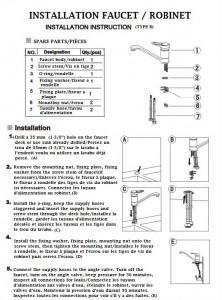 instruction page 1 anglais français #2