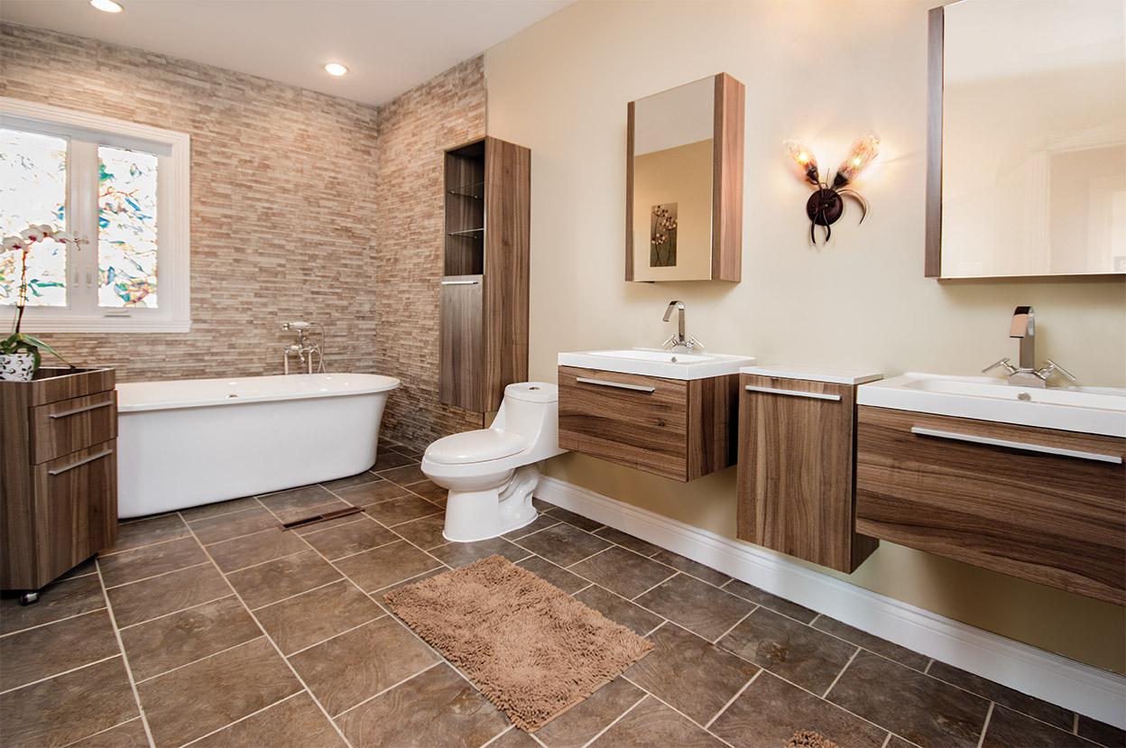 Salle de bain contemporaine photo maison design - Vanite salle de bain contemporaine ...